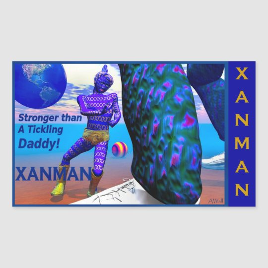 XANMAN~STRONGER! Sticker