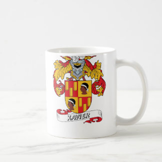 Xavier Family Crest Coffee Mug