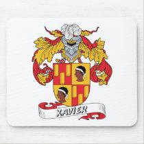 Xavier Family Crest Mousepad