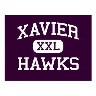 Xavier - Hawks - High School - Appleton Wisconsin Postcard