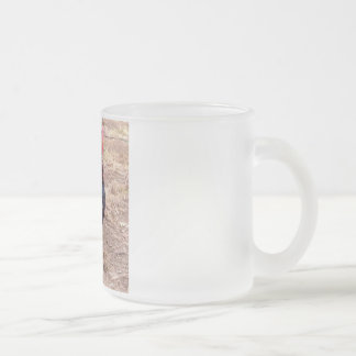 Xavier III Frosted Glass Coffee Mug