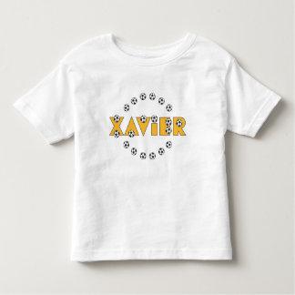 Xavier in Soccer Gold Toddler T-shirt