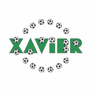Xavier in Soccer Green Statuette
