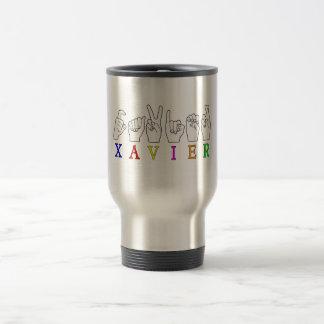 XAVIER 15 OZ STAINLESS STEEL TRAVEL MUG