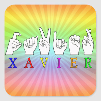 XAVIER STICKERS