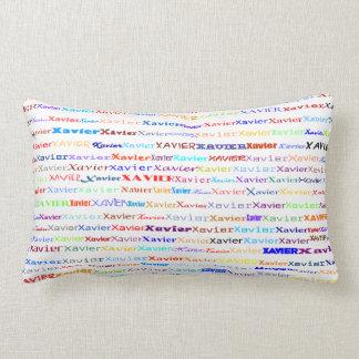 Xavier Text Design II Lumbar Pillow