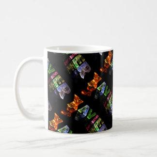 Xavier  - The Name Xavier in 3D Lights (Photo) Coffee Mug