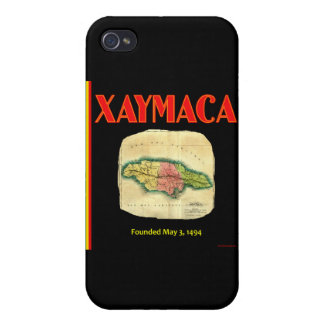 Xaymaca founded May 3 1494 - Jamaica Map iPhone 4/4S Cases