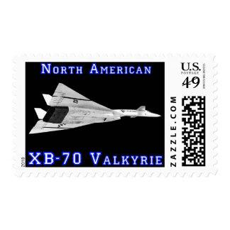 XB-70 Valkyrie Postage Stamp