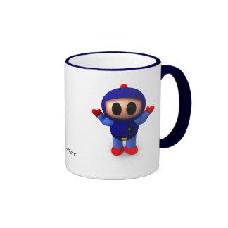 XBlast - Blue Player Ringer Mug