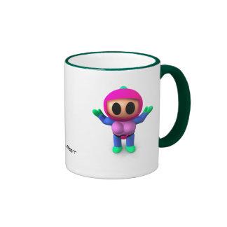 XBlast - Pink Female Player Ringer Mug