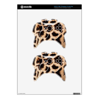 xbox 360 Controller Skin Template Animal Print