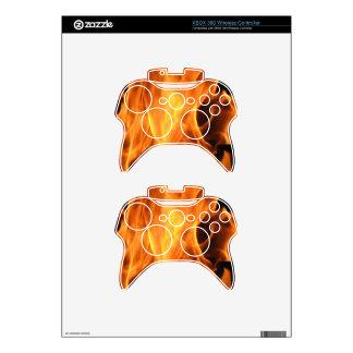 xbox 360 Controller Skin Template Fire