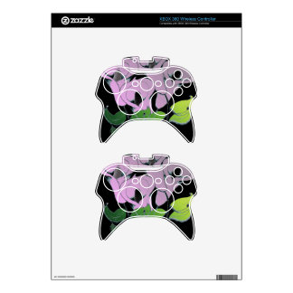Xbox 360 controller Skin with Nature Art