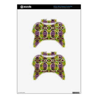 Xbox 360 Controller Skins with Olive Pattern