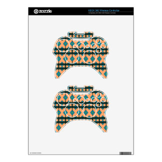 xBox 360 Controller Skins with Southwestern Design