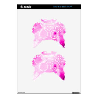 XBOX 360 Pink Metal Frost Controller Skin Xbox 360 Controller Skin