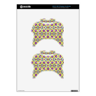 XBOX 360 Wireless Controller Skin Diamond Design