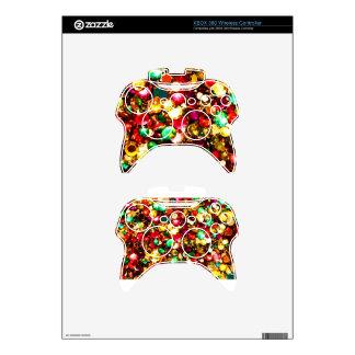 XBOX 360 Wireless Controller Skin/ rhinestones Xbox 360 Controller Decal