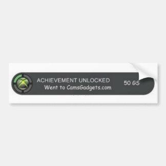 Xbox Achievment Bumper Sticker