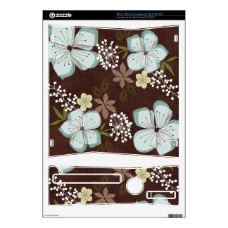 Xbox Hawaiian Blue Flower Xbox 360 S Console Skin
