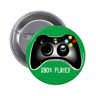 Xbox Player 2 Inch Round Button