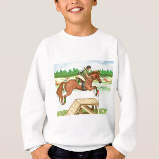 XC Bright Chestnut by the lake, Eventing Sweatshirt