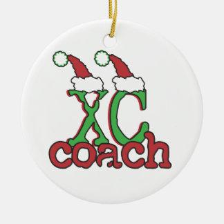 XC coche del campo a través - día de fiesta del na Ornaments Para Arbol De Navidad