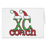 XC Cross Country Coach - Christmas Holiday Greeting Card