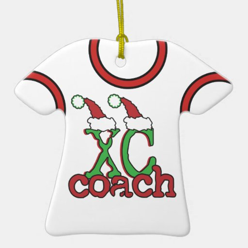 XC Cross Country Coach - Christmas Holiday Christmas Ornaments
