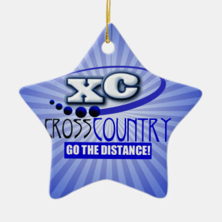 XC CROSS COUNTRY GO THE DISTANCE ORNAMENT