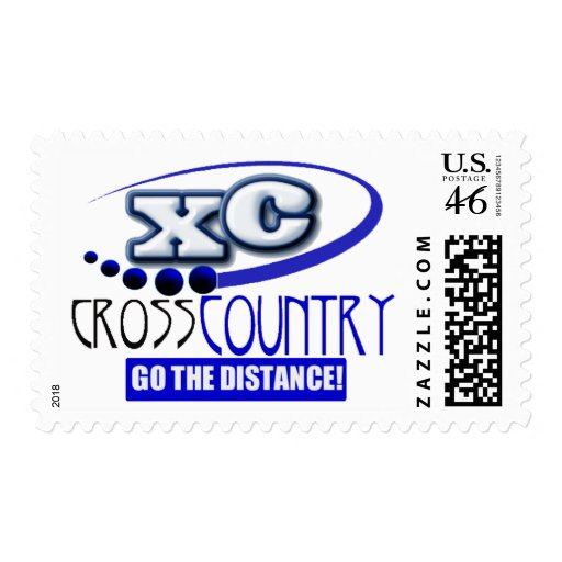 XC CROSS COUNTRY GO THE DISTANCE! STAMPS