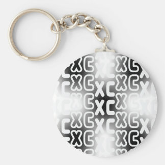 XC Cross Country Keychain