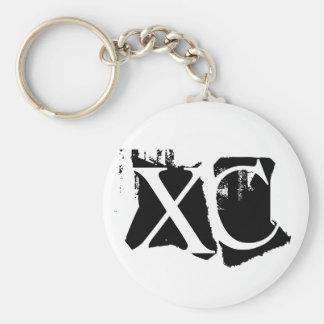 XC - Cross Country Keychain