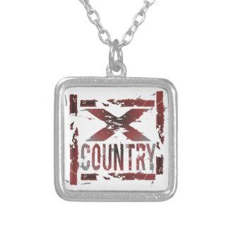 XC Cross Country Runner Custom Jewelry