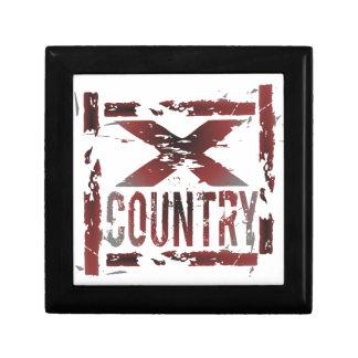 XC Cross Country Runner Gift Box