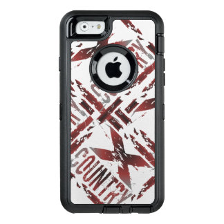 XC Cross Country Runner - Grunge Running OtterBox Defender iPhone Case