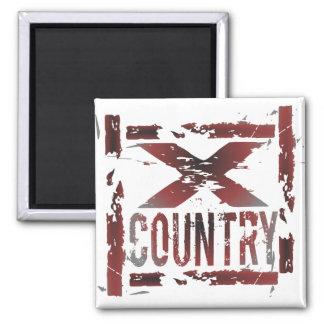 XC Cross Country Runner Magnet