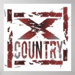 XC Cross Country Runner Poster