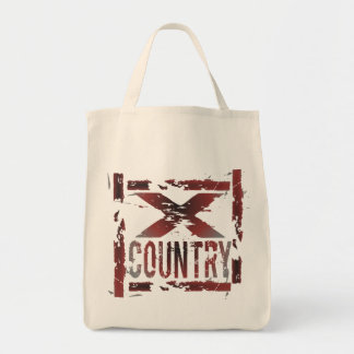 XC Cross Country Runner Tote Bag