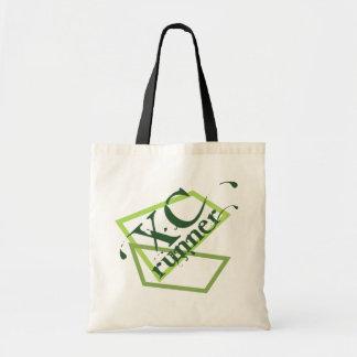 XC Cross Country Runner Tote Bag