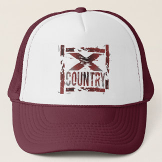 XC Cross Country Runner Trucker Hat