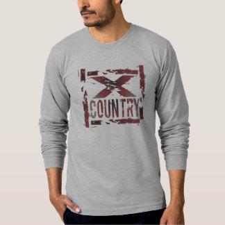 XC Cross Country Runner Tshirt