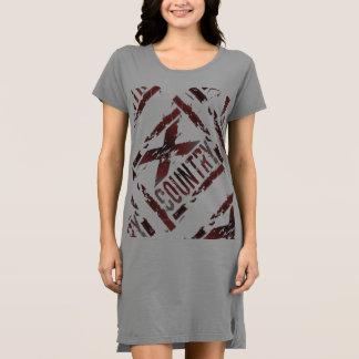 XC Cross Country Runner Tshirt Dress