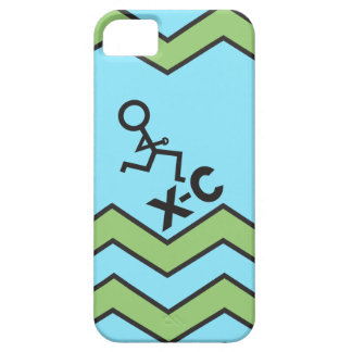 XC Cross Country Running Chevron Pattern iPhone SE/5/5s Case