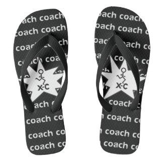 XC Cross Country Running Coach Flip Flops