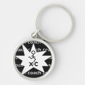 XC Cross Country Running Coach Keychain