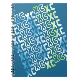 XC Cross Country Spiral Notebook
