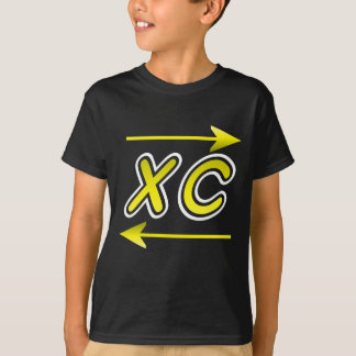 XC Gold and white arrow T-Shirt