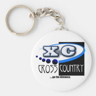 XC MOTTO - Go the Distance - CROSS COUNTRY Keychain